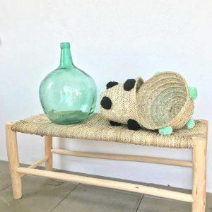 Corbeille à pompons - Mimpi Manis Décoration d'intérieur artisanale et ethnique