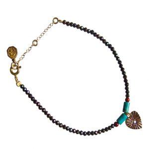 Bracelet coeur Shiro : Bijoux artisanaux - Mimpi Manis Déco d'intérieur