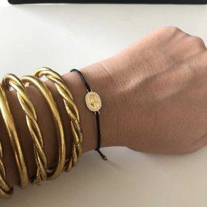Bracelet cordon Sainte Marie : Bijoux artisanaux - Mimpi Manis : Déco
