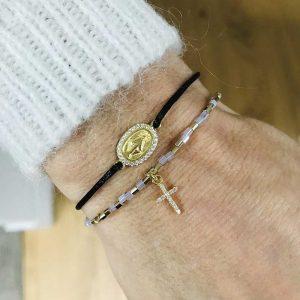 Bracelet Sixtine : Bijoux artisanaux - Mimpi Manis Décoration artisanale