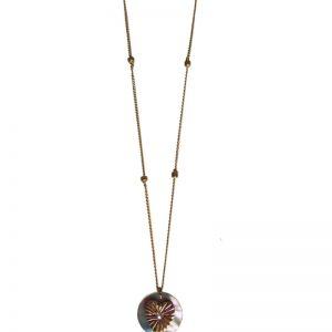 Collier coeur Pawa : Bijoux artisanaux - Mimpi Manis Décoration d'intérieur