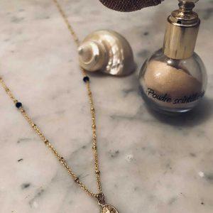 Collier pluie : Bijoux artisanaux - Mimpi Manis : Décoration d'intérieur