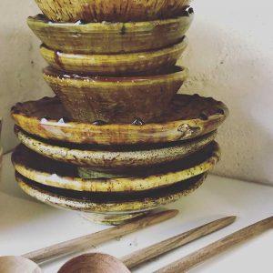 Assiette Tamegrout : Vaisselle Cuisine - Décoration d'intérieur Mimpi Manis