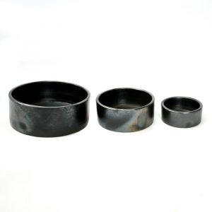 Bols cylindriques en terre cuite brulée Bazar Bizar - Vaisselle de cuisine