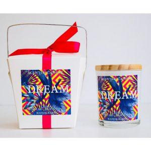 Bougie Dream saine et parfumée Cedar - Bougie Déco Lifestyle Maison