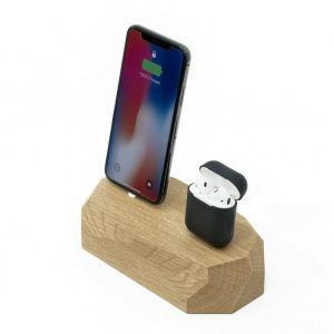 Double chargeur Iphone Wooden Oak - High Tech & Gadgets - Lifestyle