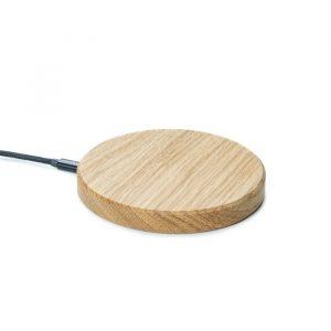 Chargeur téléphone sans fil Wooden Oak - High Tech & Gadgets Kasachic